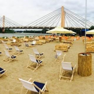 Miejski plażing we Wrocławiu